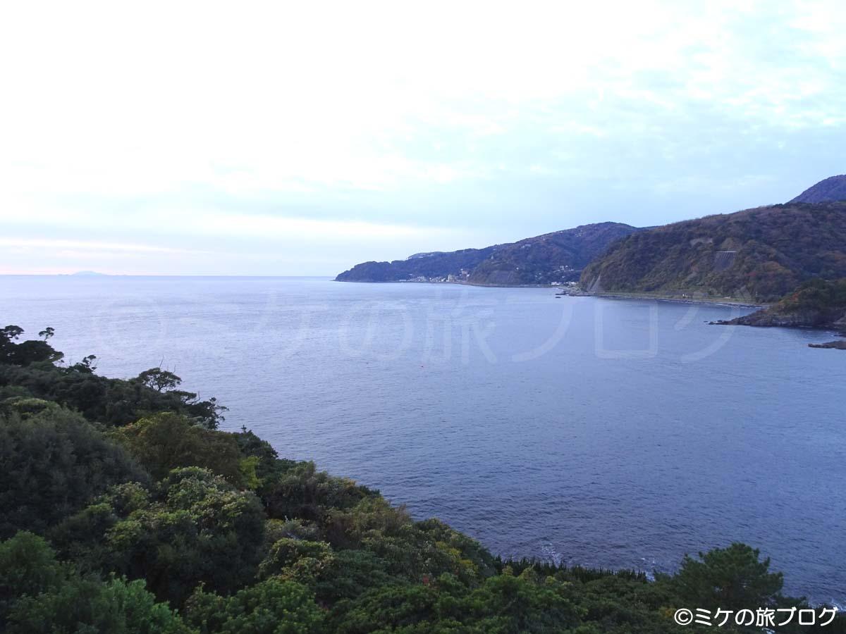 赤沢温泉ホテル・本館の部屋からの眺望