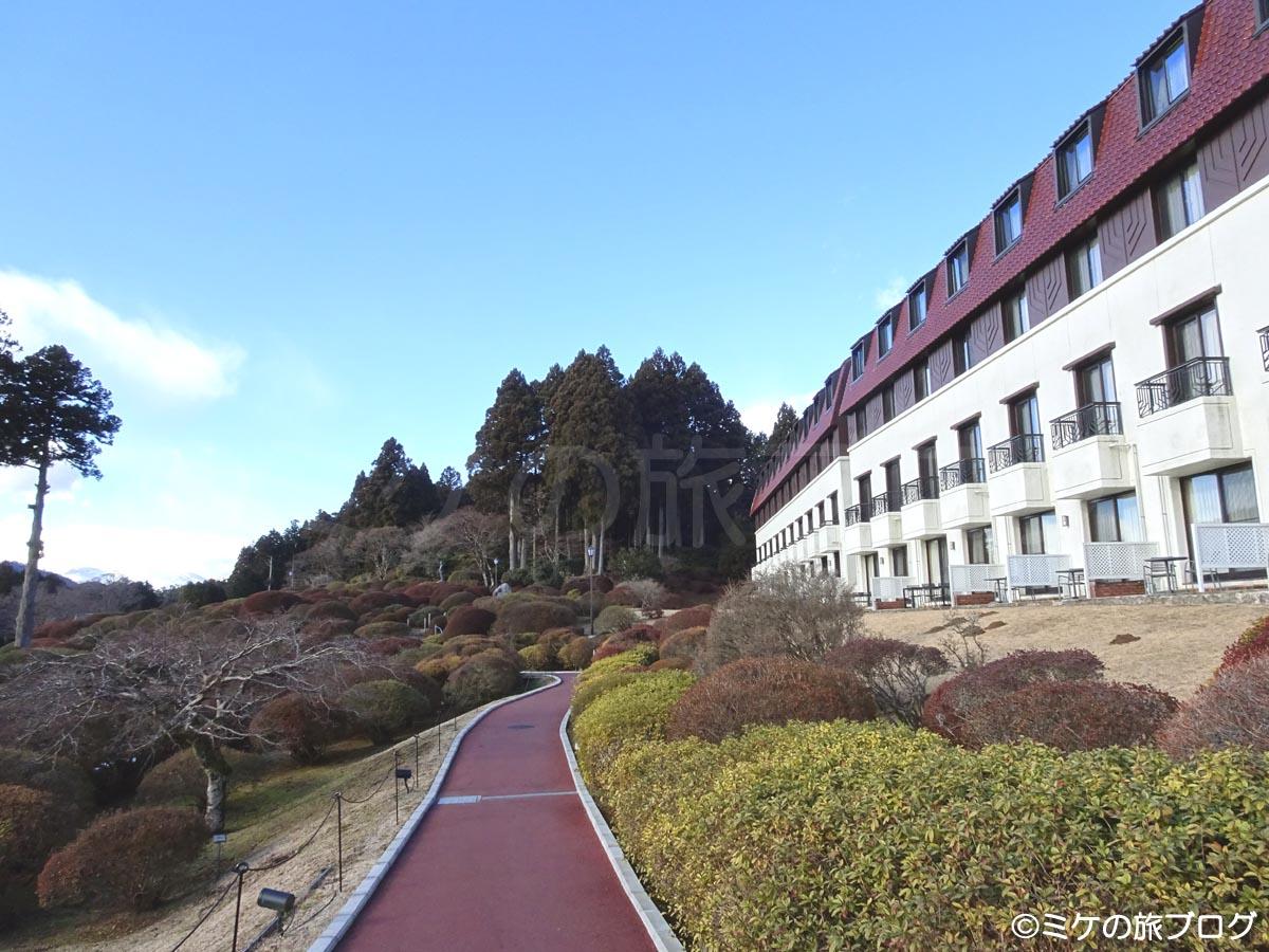 箱根芦ノ湖 山のホテル