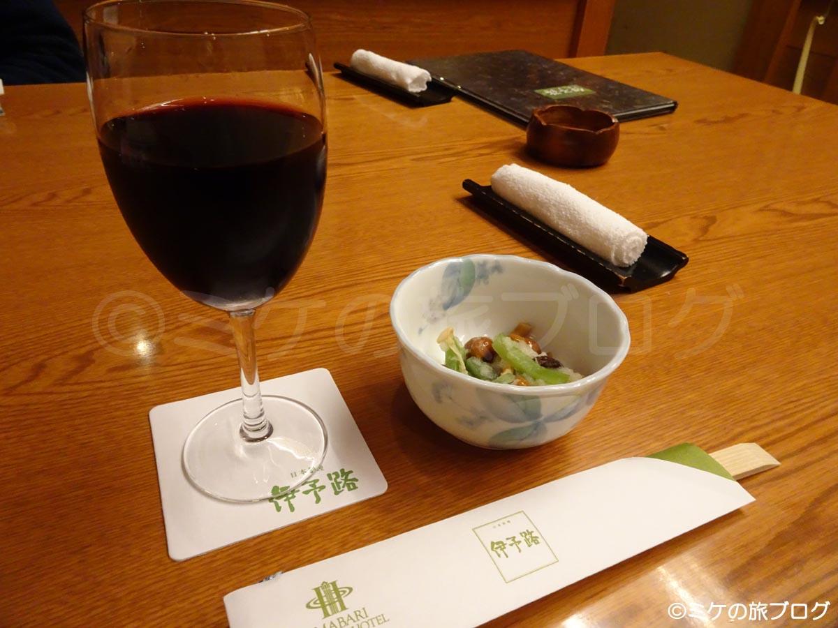 今治国際ホテル  和食 伊予路 夕食