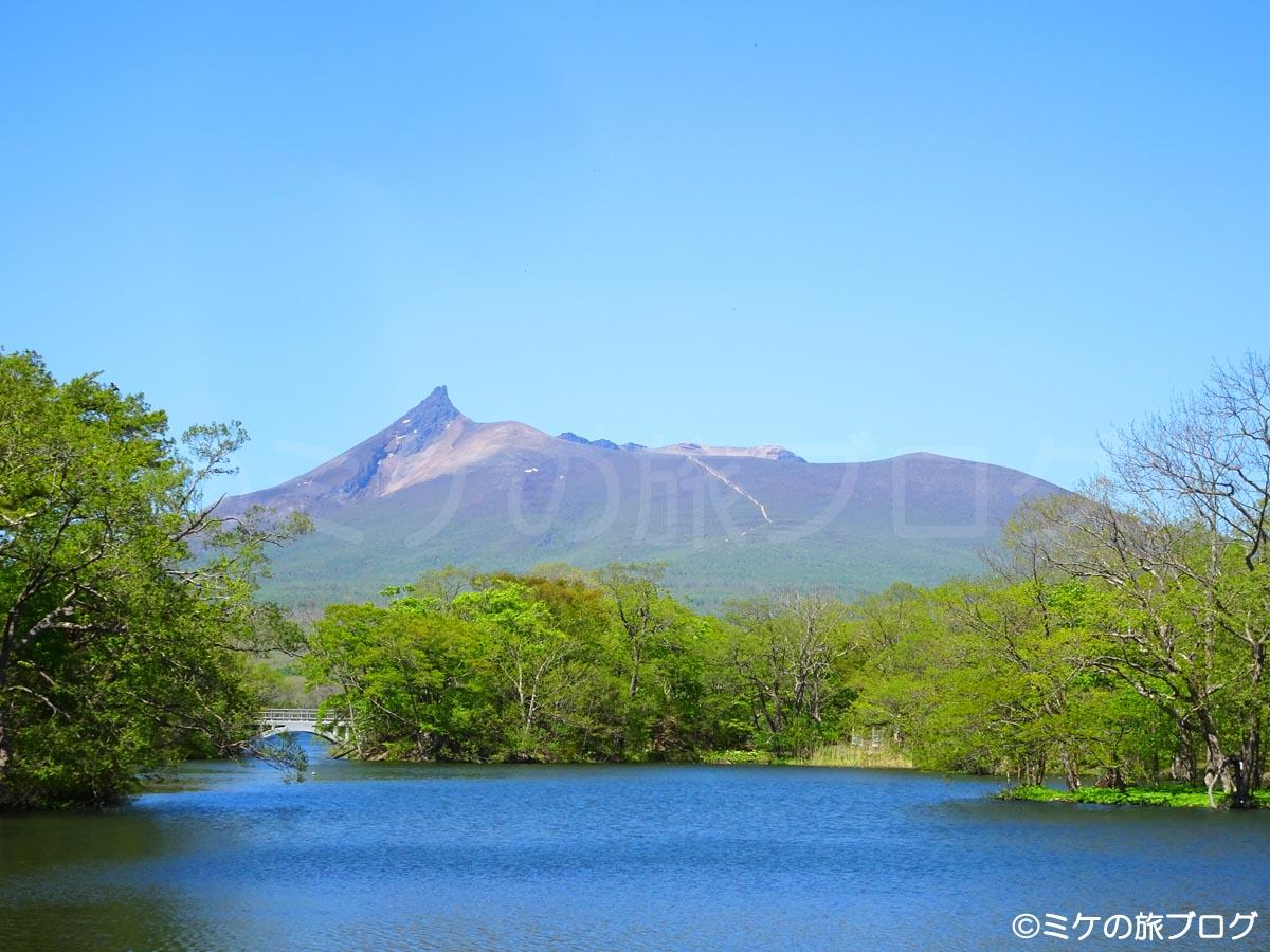 大沼公園から見る駒ヶ岳