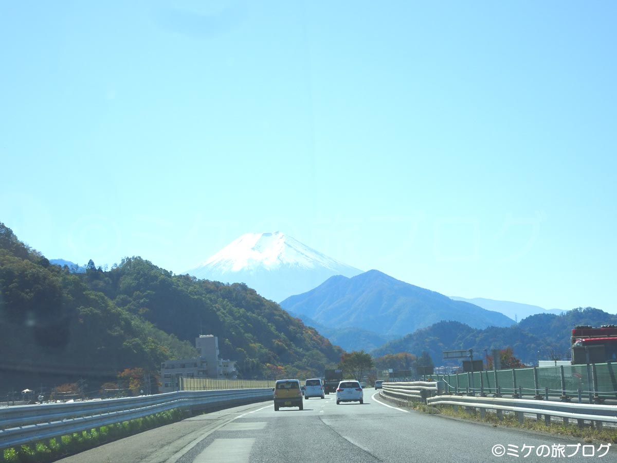 富士山へ向かう道中