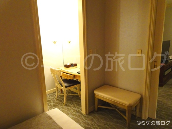 横浜ロイヤルパークホテル クローゼット