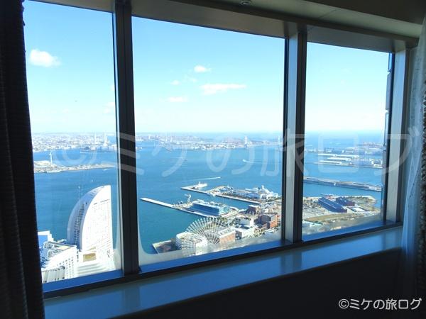 横浜ロイヤルパークホテル 眺望