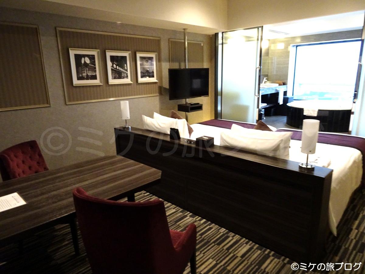 ザ パーク フロント ホテル アット ユニバーサル・スタジオ・ジャパン ビューバスタイプの部屋