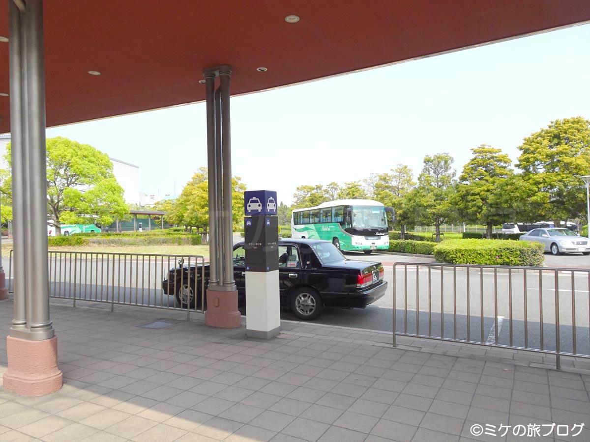 USJ バス・タクシー乗り場