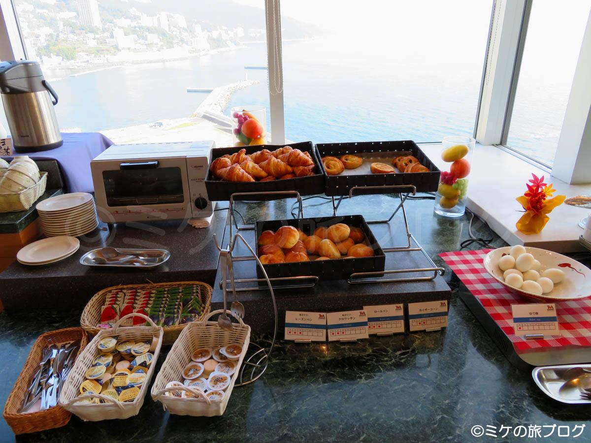 熱海後楽園ホテル タワー館 朝食ブッフェ